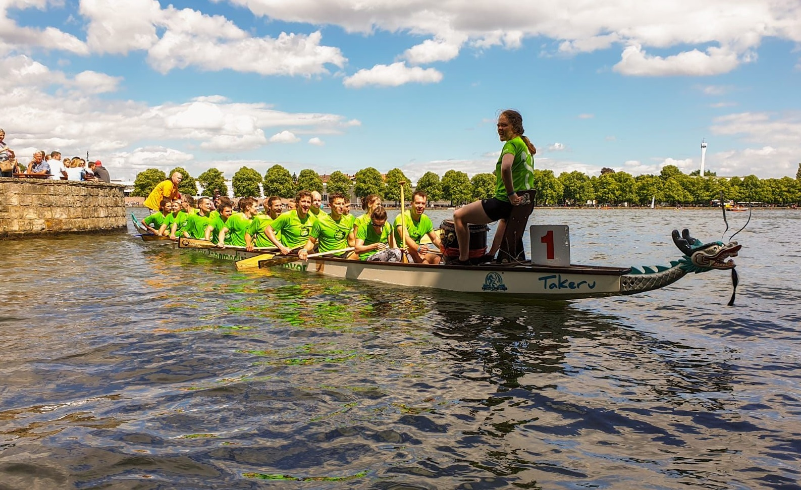 Drachenbootrennen - Maschsee Hannover 2019